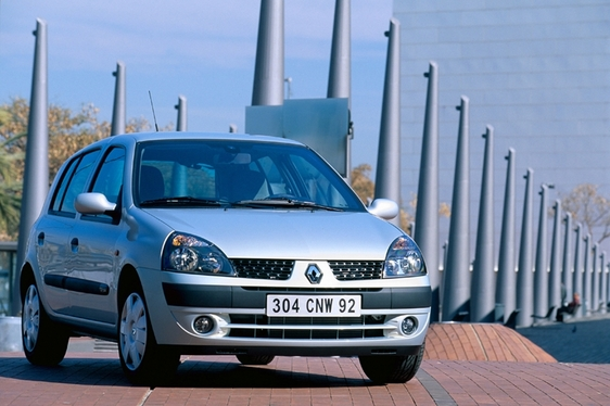 2003 renault clio ii 1 2 16v generation 2004 related infomation specifications weili. Black Bedroom Furniture Sets. Home Design Ideas