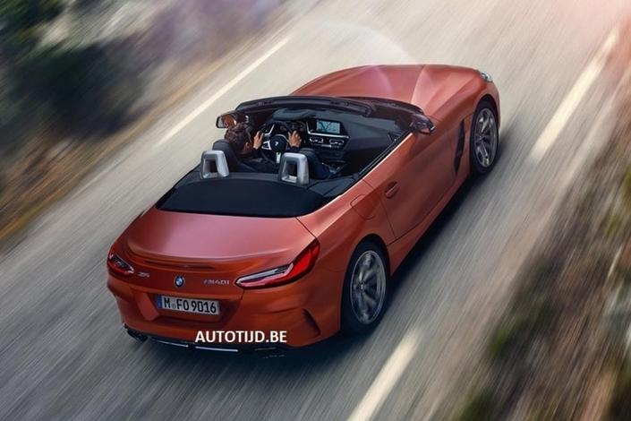 BMW Z4: de nouvelles photos en avance