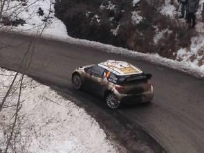 WRC Monte-Carlo - à mi course : Loeb à la faute, Ogier leader