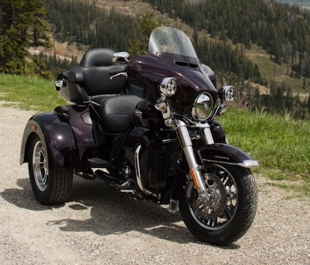 Nouveauté 2014, Harley-Davidson: Tri Glide ® Ultra Classic ®