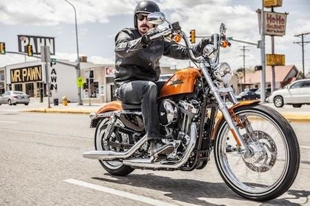 Nouveauté 2014: Harley-Davidson met l'ABS sur ses Sportster