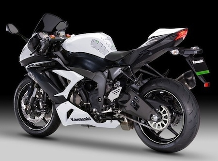 "Kawasaki Ninja ZX-6R 636: le pack ""Performance"""