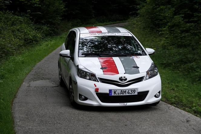 WRC - La Toyota Yaris R1A TMG en Allemagne!