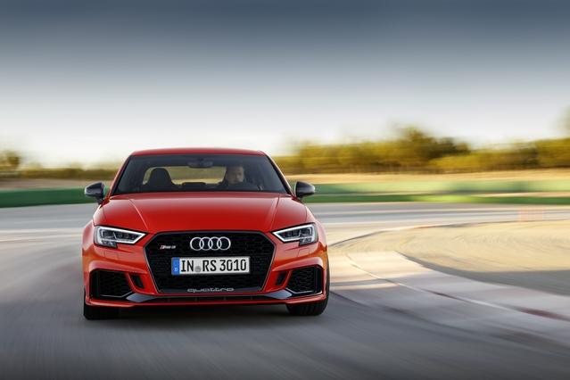Audi dévoile la RS3 berline
