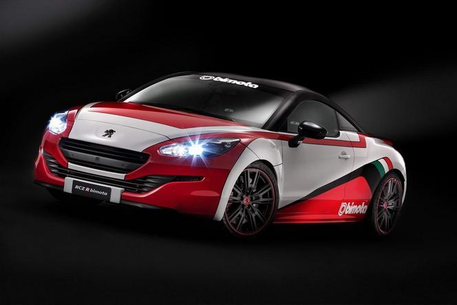Peugeot : le RCZ-R préparé par Bimota pour le salon de la moto