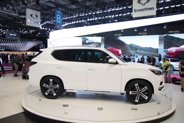 Ssangyong LIV-2 Concept : plus blanc que blanc - En direct du Mondial de Paris 2016