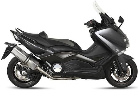 Mivv fait aussi une ligne Speed Edge pour booster le nouveau Yamaha T-Max 530