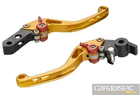 Titax: leviers d'embrayage ou de frein... taillés dans la masse.