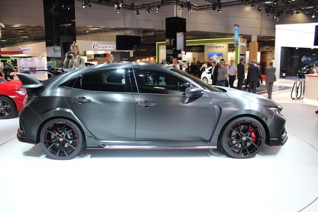 Honda Civic Type R Concept : démonstrative - En direct du Mondial de Paris