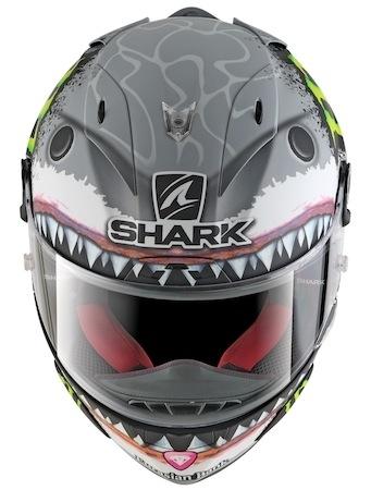 Série limitée à 1 500 exemplaires: Shark Race-R Pro Replica Lorenzo White Shark