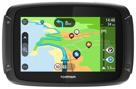 TomTom actualise ses GPS Rider 450, 42 et 420
