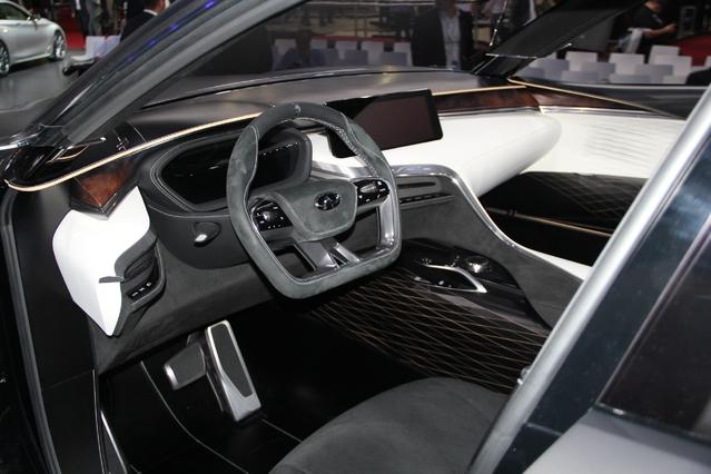 Infiniti QX Sport Inspiration: le QX50 arrive - En direct du Mondial de Paris 2016