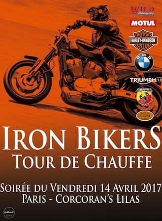 Tour de Chauffe Iron Bikers 2017: ce soir Porte des Lilas