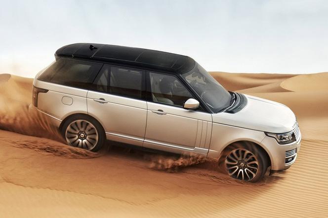 Voici les premières photos du nouveau Range Rover