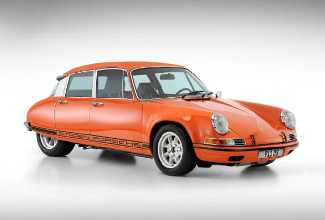 Une Citroën DS Porsche 911 c'est possible: la preuve