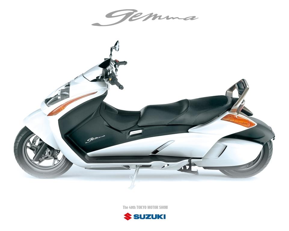 Salon de Tokyo : Suzuki Gemma 250