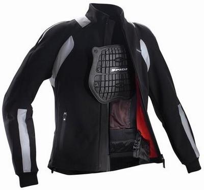 Spidi Soft Cell Armor, blouson souple et protecteur.