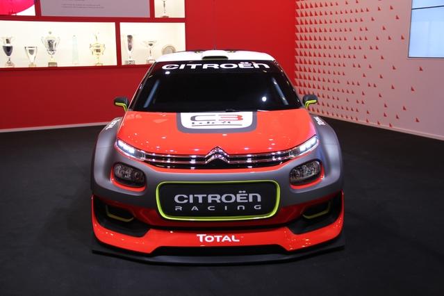 Citroën C3 WRC Concept : vrai pétard - Vidéo en direct du Mondial de Paris 2016