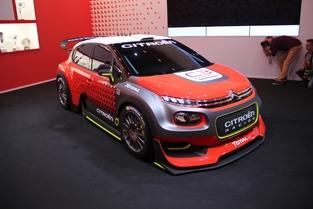 La C3 version championnat du monde des rallyes.