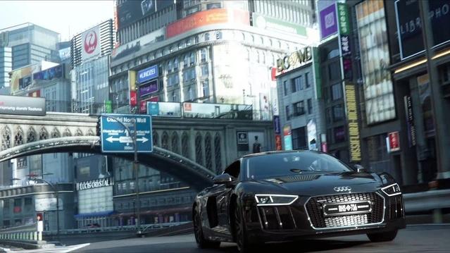 Mondial de Paris 2016- Une Audi R8 aux couleurs de Final Fantasy