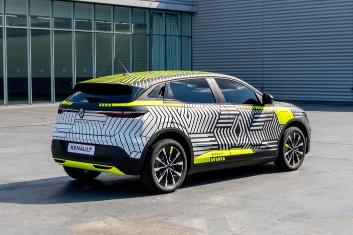 Renault Mégane électrique: voici à quoi elle ressemble