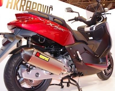 JPMS 2011 comme si vous y étiez: Akrapovic.