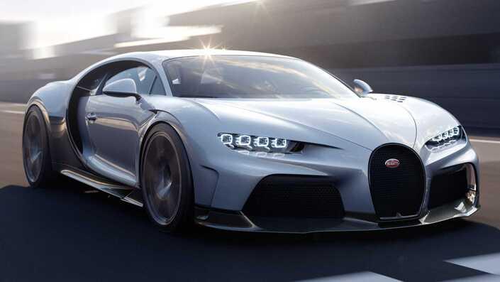 Bugatti unveils the Chiron Super Sport