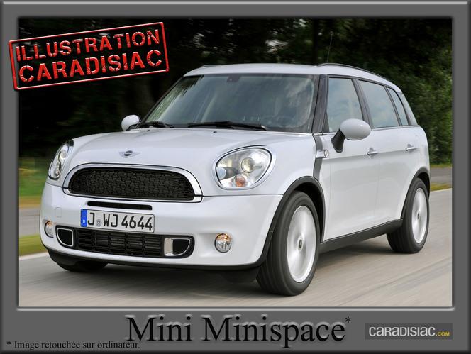 Pour 2014, Mini prépare un minispace !