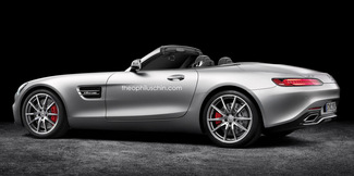 Mercedes-AMG GT Roadster : comme ça ?