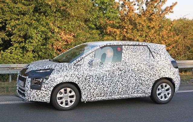 Surprise : le Citroën C3 Picasso sort de l'ombre