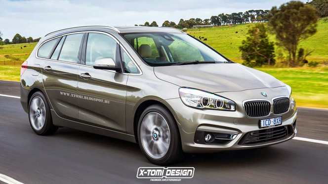 BMW Série 2 Active Tourer 7 places : virtuelle