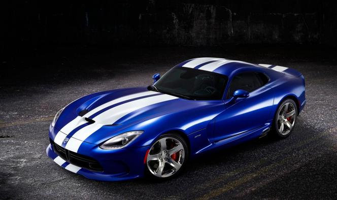 Nouvelle SRT Viper GTS Launch Edition