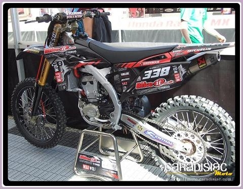 Motocross : Deux tops pilotes chez Yamaha Bike It Cosworth
