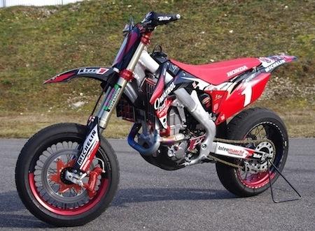 Essai exclusif de la moto de Sylvain Bidart : rencontre avec la Honda CRF 450