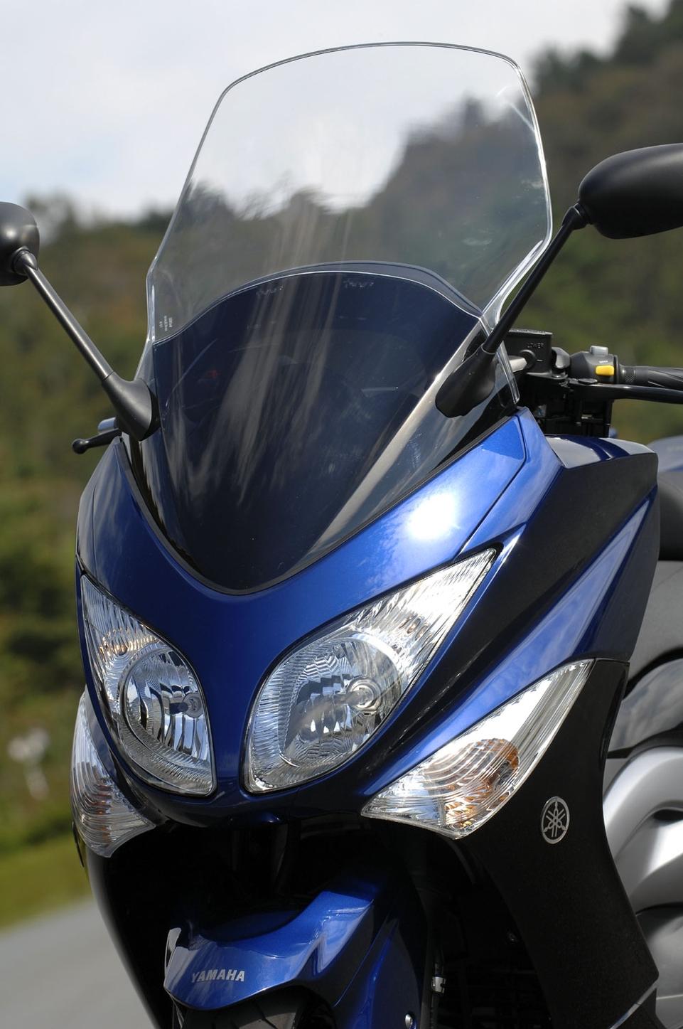 Yamaha : T-Max 500 version 2008, de plus près.