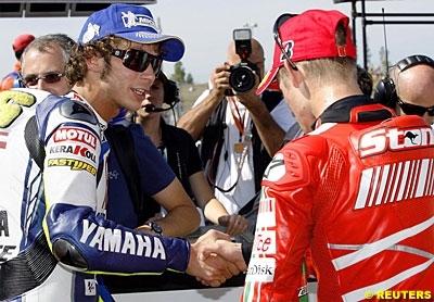 Moto GP 2008: La grille définitive