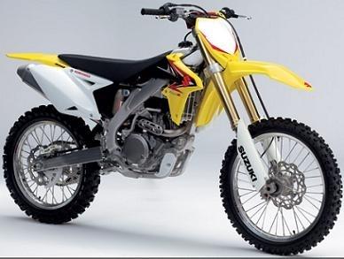 Nouveauté cross 2010 : les Suzuki arrivent