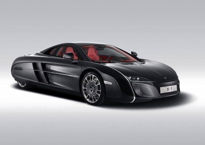 """Voici la (sublime) McLaren X-1: absolument unique et """"dédiée""""..."""
