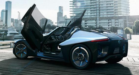 (Porte-à-porte) Nissan BladeGlider et Volkswagen XLR: de la belle ouvrage sportive
