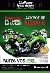 Coupe Kawasaki et Challenge Team Green 2010