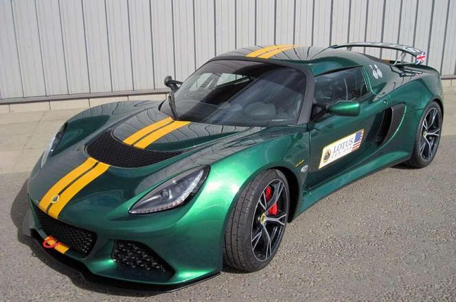 Voici la nouvelle Lotus Exige Cup