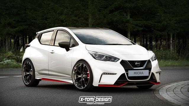 Design : la nouvelle Nissan Micra déjà imaginée en Nismo