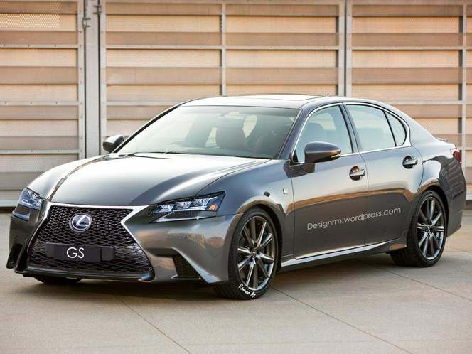 Lexus GS restylée : comme ça ?