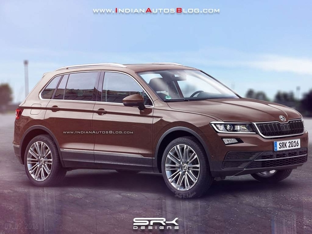 Design : un graphiste imagine le futur Skoda Yeti