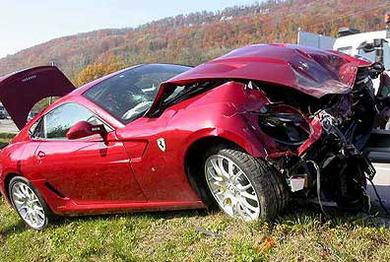 Ferrari 599 GTB dans le rail : si les patrons s'y mettent aussi...