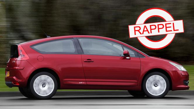 La Citroën C4 Coupé au rappel : un faisceau fait suer