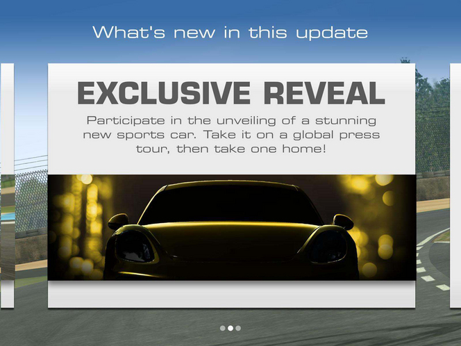 Porsche tease le Cayman GT4 via le jeu Real Racing 3