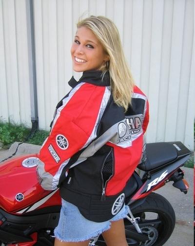 Moto & Sexy : Melissa Midwest en Yamaha R6