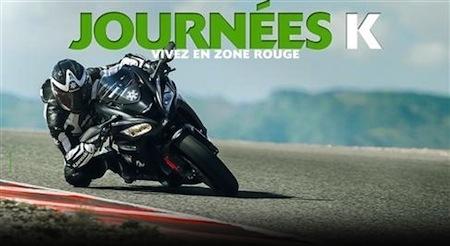 Concours Kawasaki: 3 places à gagner pour la Journée K 2017 de Dijon-Prenois