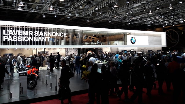 Les constructeurs sans nouveauté - En direct du Mondial de Paris 2016